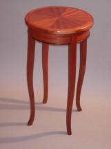 Sapele lamp table