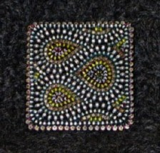 Square Brooch