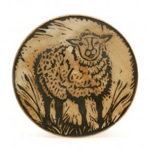 Dessert plate with Sheep