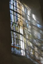 Light Through Church Window, Normandy