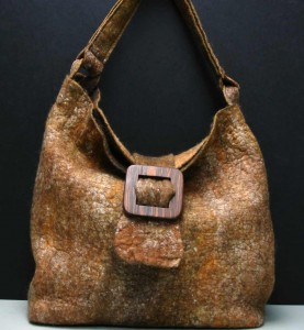 Golden Buckle Bag