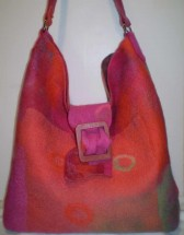 Scarlet Buckle Bag