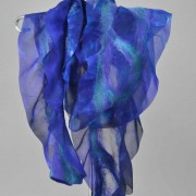 Scarf in Blues