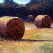 Haybales at Days End