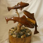 Fish, Fowl & Flowers: Woodcarving and Photography
