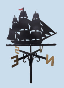 Ship Weathervane