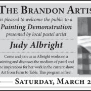 Judy Albright Painting Demonstration